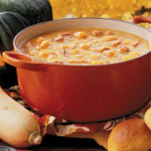 Navy Bean Squash Soup Recipe