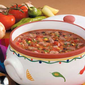 Chunky Taco Soup Recipe