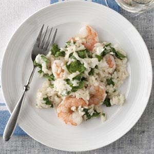 Hearty Shrimp Risotto Recipe