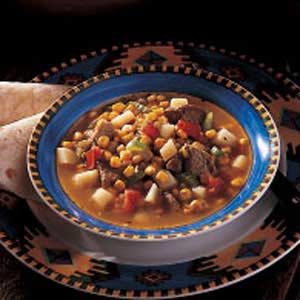 Pueblo Green Chili Stew Recipe