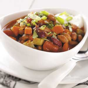 Hearty Meatless Chili Recipe