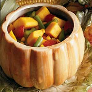 Pumpkin Vegetable Stew Recipe