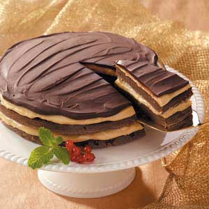 Favorite Chocolate Peanut Torte Recipe