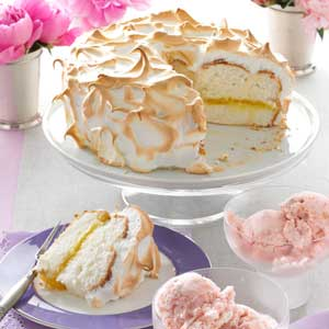 Lemon Meringue Angel Cake Recipe