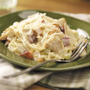 Creamy Chicken Angel Hair Recipe