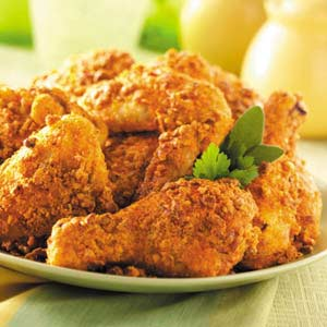 Nutty Oven-Fried Chicken Recipe