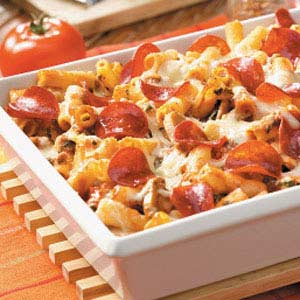 Pepperoni Ziti Casserole Recipe