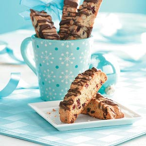 Cranberry Walnut Biscotti Recipe