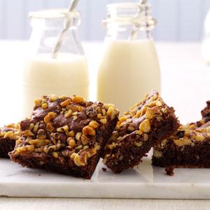 Fudge Nut Brownies Recipe