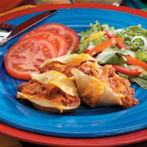 Enchilada Stuffed Shells Recipe