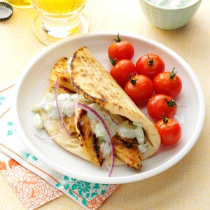 Chicken Gyros Recipe
