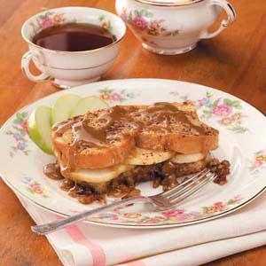 Apple-Stuffed French Toast Recipe