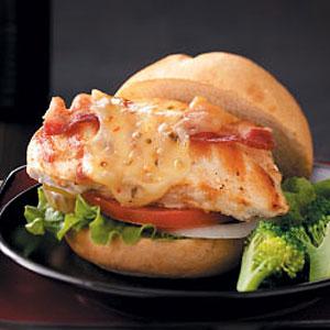 Grilled Pepper Jack Chicken Sandwiches Recipe
