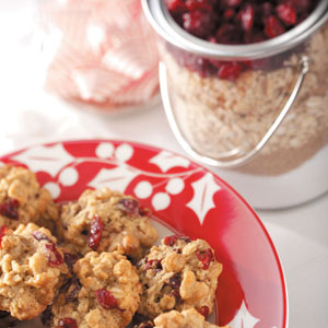 Oatmeal Cranberry Cookie Mix Recipe