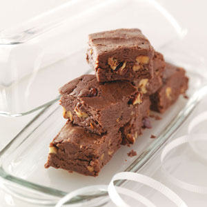 Triple Chocolate Fudge Recipe