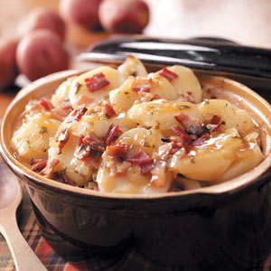 Baked German Potato Salad Recipe
