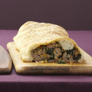 Hearty Sausage-Stuffed Loaf Recipe