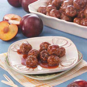 Meatballs in Plum Sauce Recipe