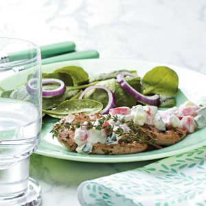 Greek Pork Cutlets Recipe