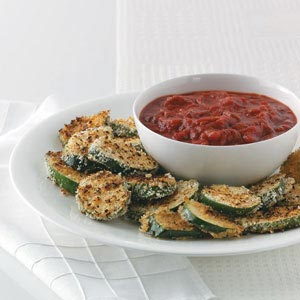Crispy Grilled Zucchini with Marinara Recipe