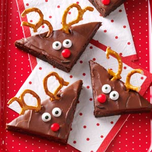 Reindeer Brownies Recipe