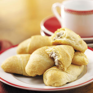 Beef-Stuffed Crescents Recipe