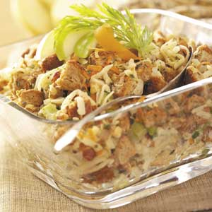 Wholesome Apple-Hazelnut Stuffing Recipe
