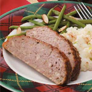 Savory Meat Loaf Recipe