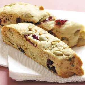 Pumpkin Seed Cranberry Biscotti Recipe