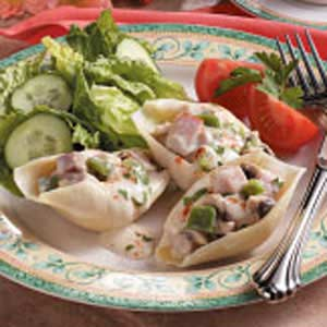Ham-Stuffed Jumbo Shells Recipe