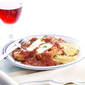 Makeover Eggplant Parmesan Recipe