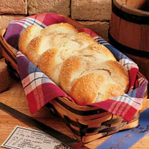 Sesame Wheat Braids Recipe