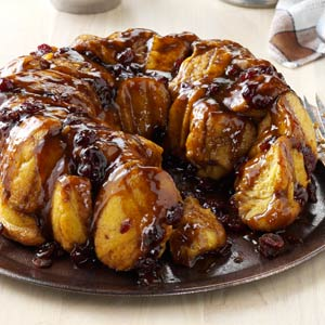 Bread Machine Pumpkin Monkey Bread Recipe