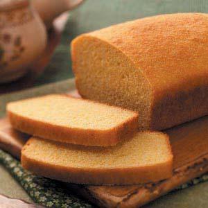 Yeast Corn Bread Loaf Recipe