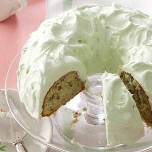 Pistachio Cake with Walnuts Recipe