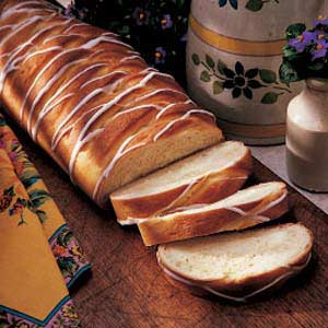 Lemon Cheese Braid Bread Recipe