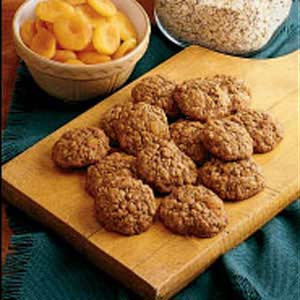 Soft Oatmeal Apricot Cookies Recipe