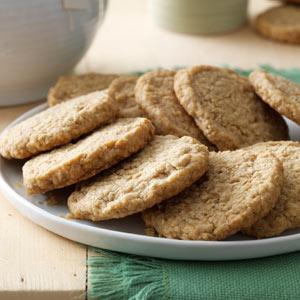Rolled Oat Cookies Recipe