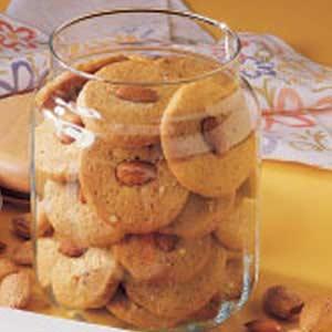 Almond Icebox Cookies Recipe