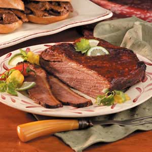 Barbecued Brisket Recipe