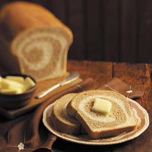 Two-Tone Yeast Bread Recipe