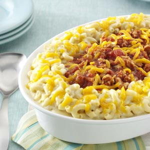 Makeover Sloppy Joe Mac and Cheese Recipe