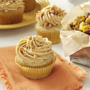 Peanut & Banana Cupcakes Recipe