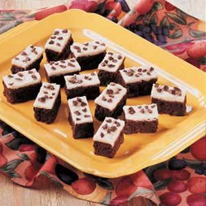 Dark Chocolate Mocha Brownies Recipe