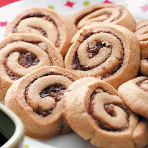Chewy Date Pinwheels Recipe