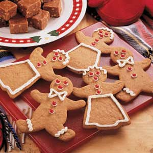 Easy Gingerbread Cutouts Recipe