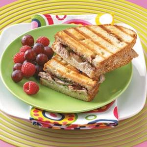 Pork Tenderloin Panini with Fig Port Jam Recipe