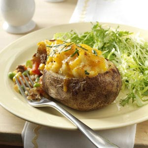 Shepherd's Pie Twice-Baked Potatoes Recipe