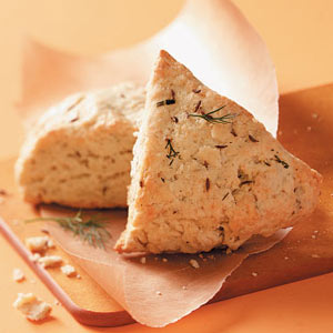 Savory Dill and Caraway Scones Recipe