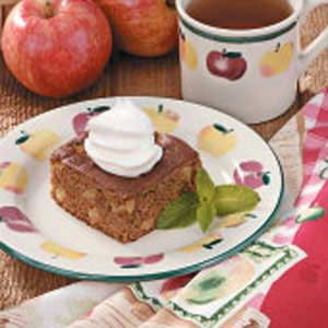 Spiced Apple Gingerbread Recipe